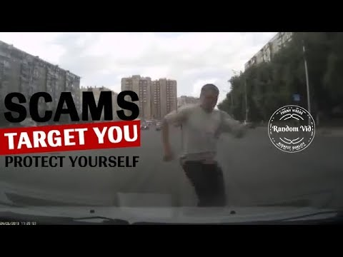 Why Russians Need Dash Cams?!! (hint: SCAMMERS)