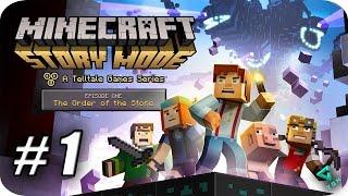 Minecraft Story Mode - Episodio 1 - Parte 1 - La Orden del Cerdo - 1080pHD