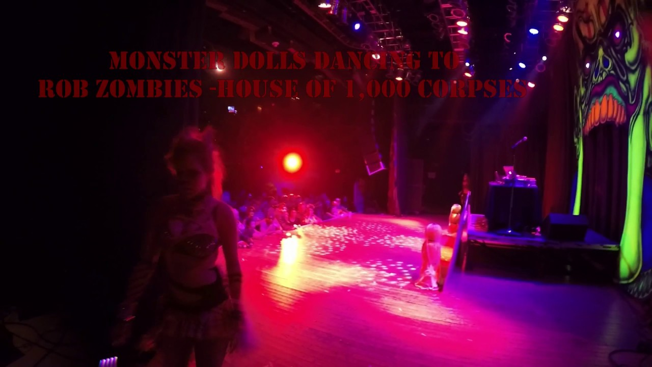 Monster Dolls perform at House of Blues Cleveland
