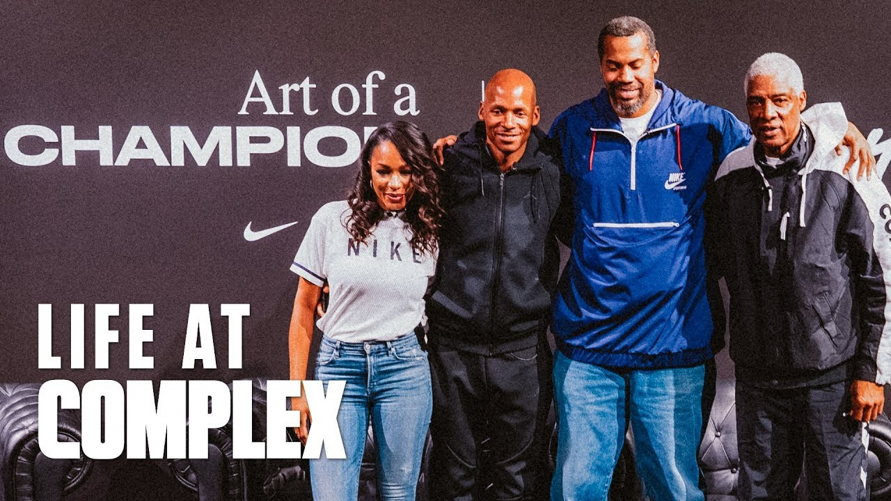 NIKE ART OF A CHAMPION EXHIBIT (Feat