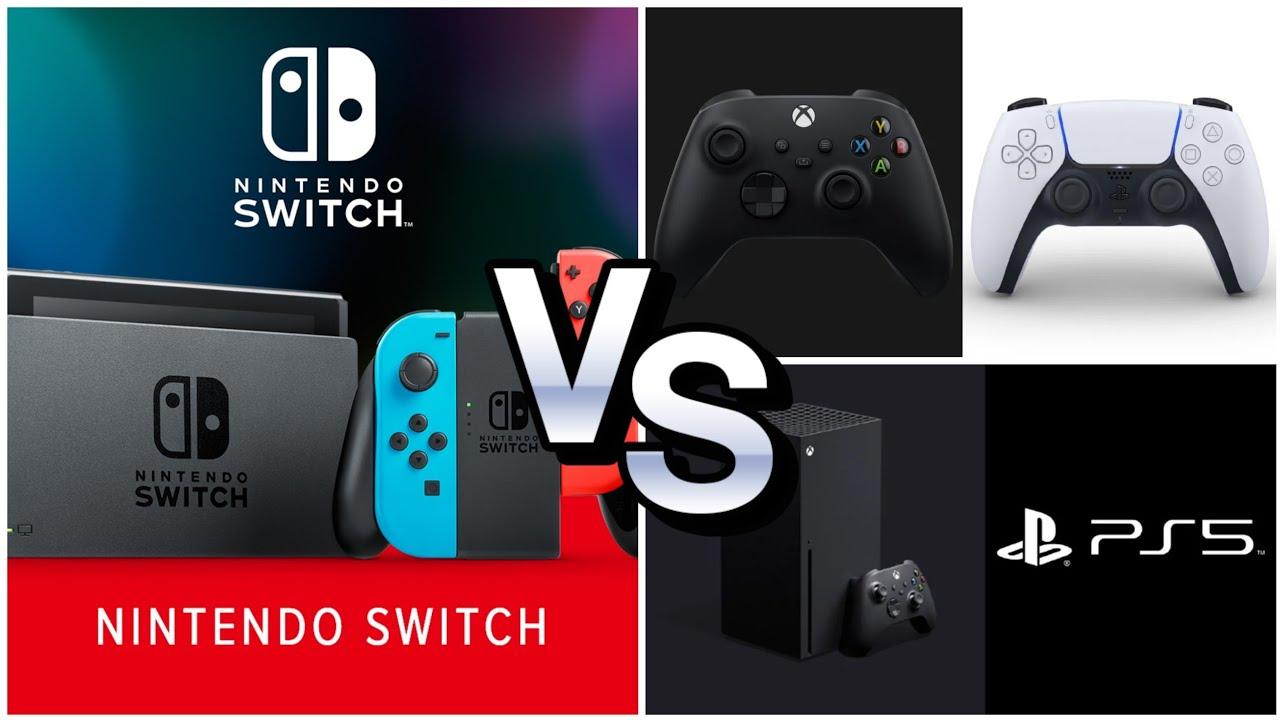 Playstation 5 Vs Xbox Series X El Ganador Vs Nintendo Switch Youtube