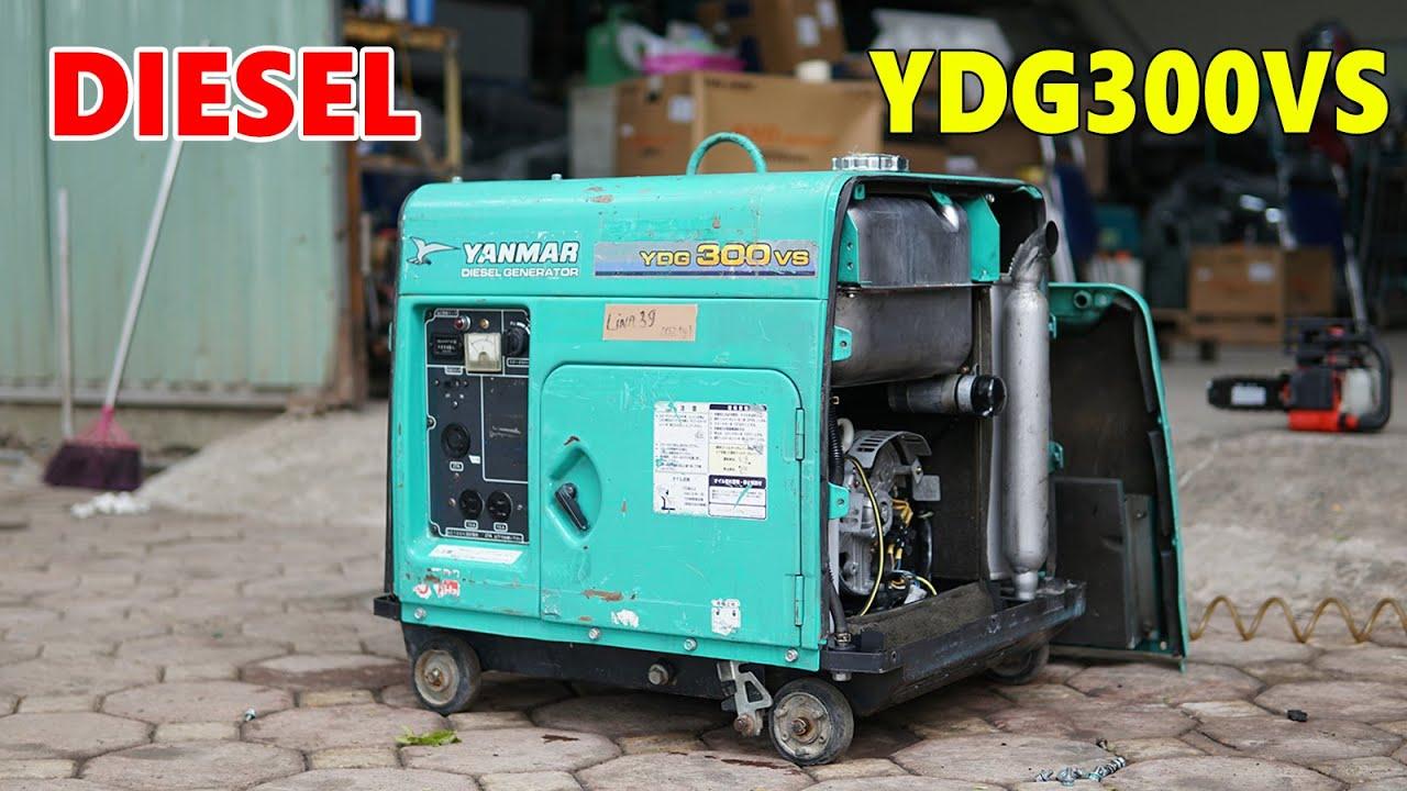 Máy Phát Điện Chạy Dầu 3Kva Nhật Yanmar YDG300VS Siêu Cách Âm Chống Ồn