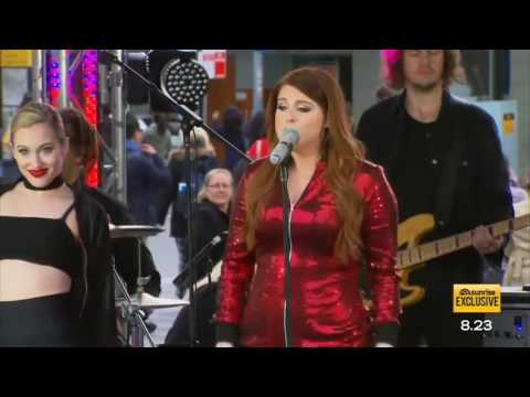 Meghan Trainor performs 'Me Too' LIVE - Sunrise