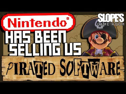Slopes Game Room - Nintendo have been selling us PIRATED SOFTWARE • r/KotakuInAction
