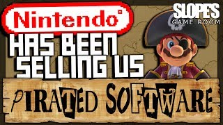 Nintendo have been selling us PIRATED SOFTWARE - SGR