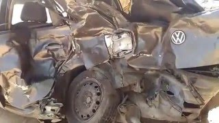 180kmph HIGH SPEED CRASH (volkswagen polo vs innova ) medchal highway