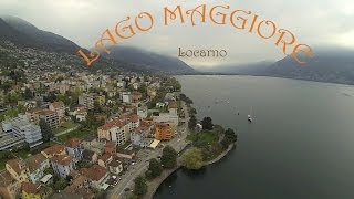 Ansichten aus der Luft: Am Lago Maggiore