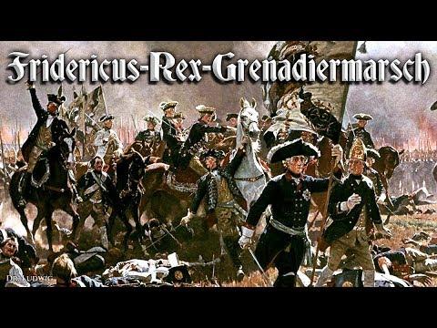 Fridericus Rex Grenadiermarsch ✠ [German march and folk song][+ english translation]