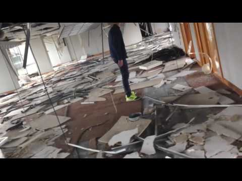 Exploring Inside - The ABANDONED Powergen Building #1 (CREEPY)