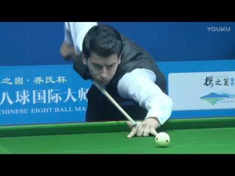 Jaouad Tabit (MOR) VS Zhang Jinchuan - World Chinese 8 Ball Masters Tour 2017-2018 Stop 1 Linyi