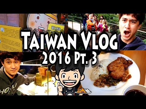 TAIWAN VLOG 2016 PART 3: Jinguashi Eco Park, The Gold Museum, and Delicious Mine Worker's Lunch Box