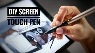 Wie man einen DIY-Touch-Pen in 2 Minuten - GENIAL