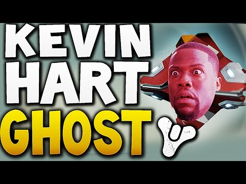 Kevin Hart as GHOST Funny !! (Destiny)