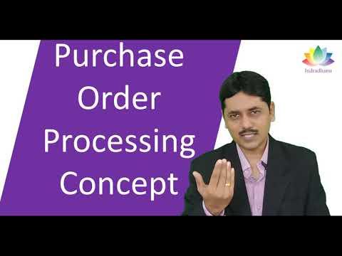 Purchase Order Processing Concept | CA. Pankaj Deshpande | Indradhanu Academy