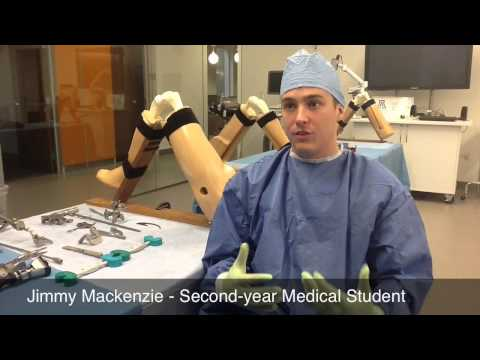 Med Students Organize Orthopedic Surgery Workshop