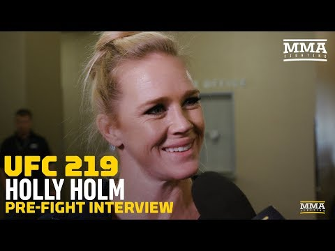 Heading into UFC 219, Holly Holm Says She Prefers Familiar Pressure of Being Underdog - MMA Fighting