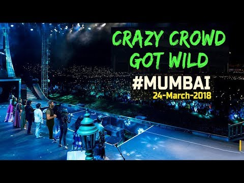 Crazy Crowd Got Wild with Arijit Singh in MMRDA Ground Mumbai 24-March-2018