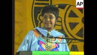 South Africa - Winnie declines ANC nomination