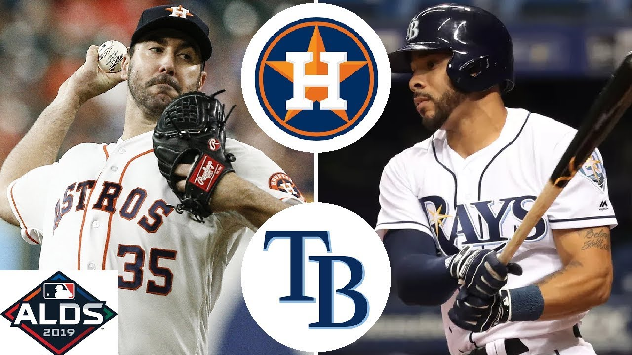 Astros 2019 >> Houston Astros Vs Tampa Bay Rays Highlights Alds Game 4 2019
