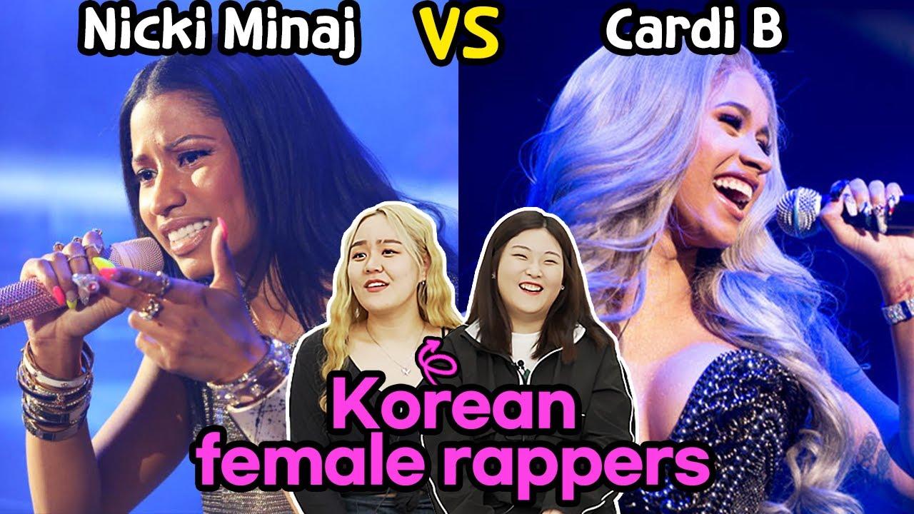 Cardi B VS Nicki Minaj, Korean Teen Rappers Choose the Queen of Rap!