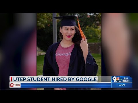 UTEP Student Gets Hired By Google