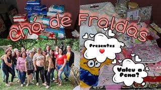 Chá de Fraldas da Júlia / Mostrei os Presentes / Valeu a Pena?