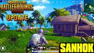PUBG Mobile English 0.8.0 - New Map Sanhok Gameplay (Android/IOS)