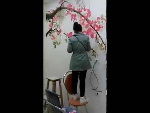 Hướng dẫn vẽ tranh tường 3d đơn giản _0908766656_0973561366