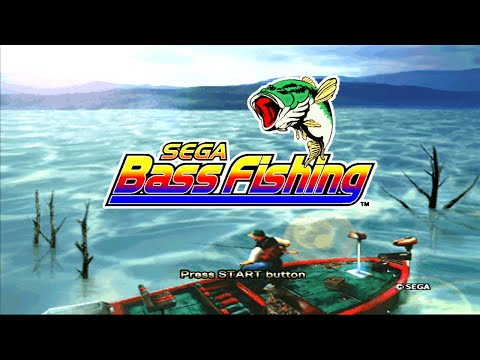 Sega Bass Fishing - Xbox 360 Live Arcade Gameplay - XBLA