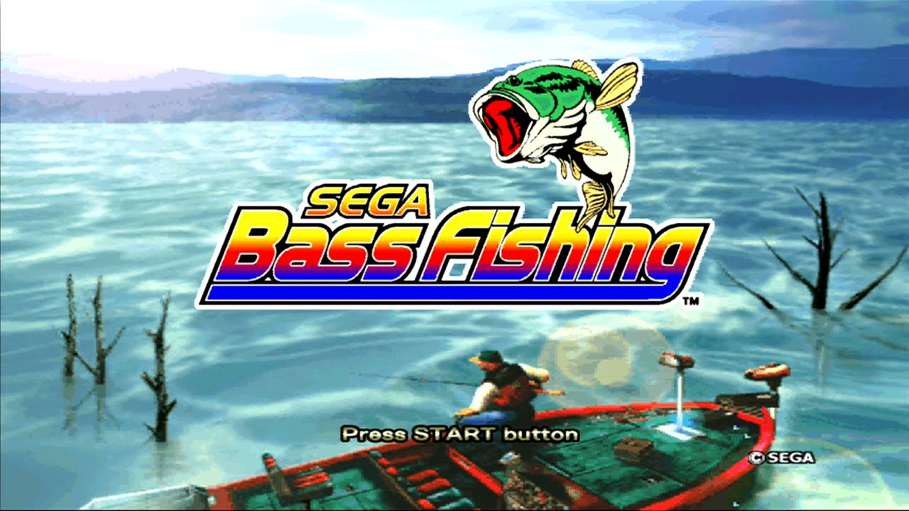 Sega Bass Fishing Xbox 360 Live Arcade Gameplay Xbla Youtube