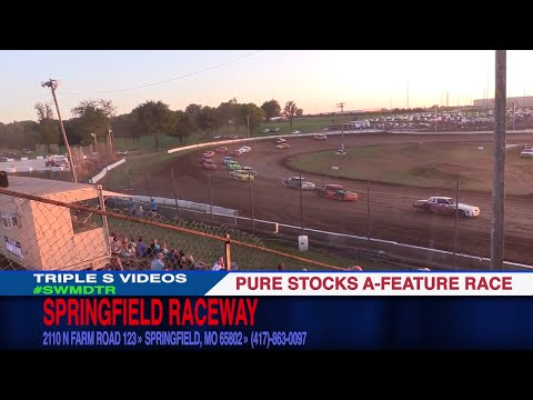 Springfield Raceway Pure Stock  A Feature race July 1 2017