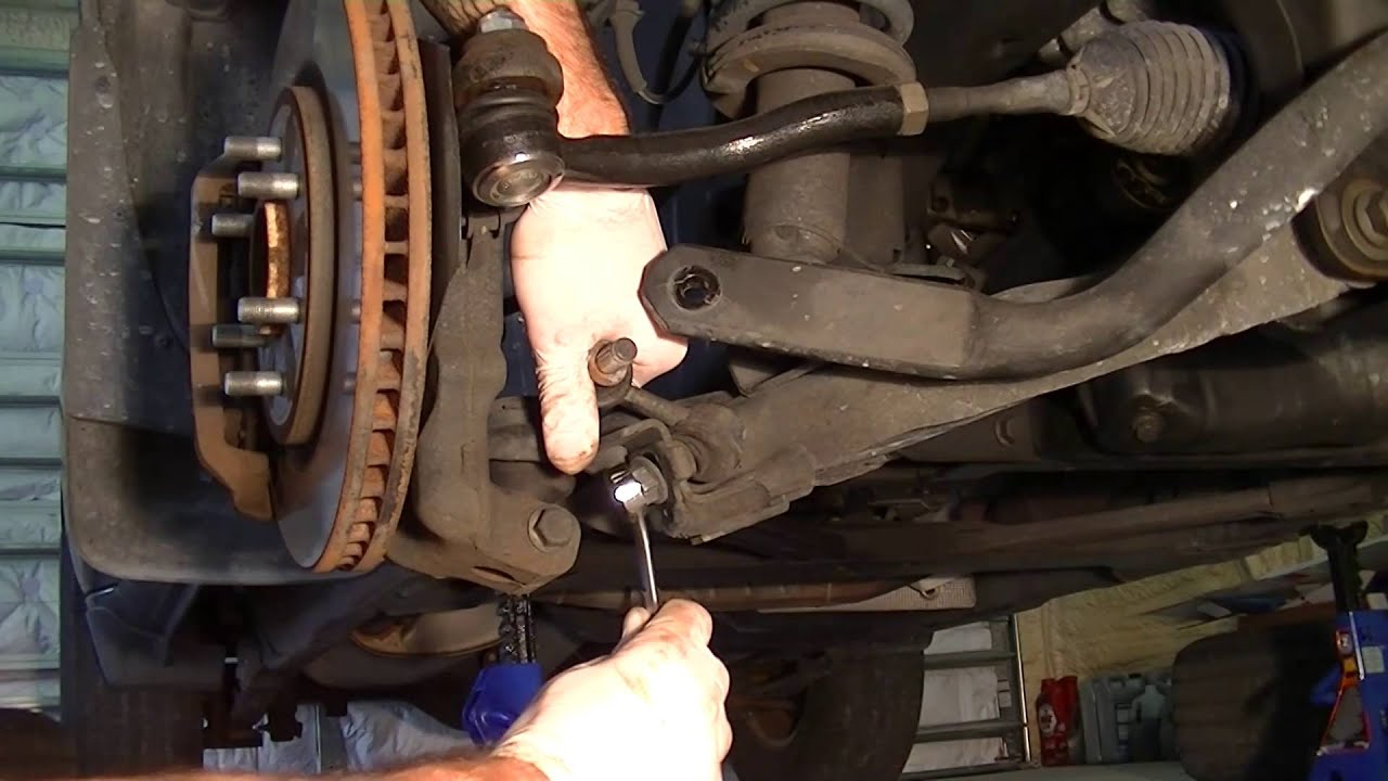 Nissan Titan Front Suspension Diagram Briggs And Stratton 6 Hp Carburetor Replacing The Sway Bar Link On Xterra Youtube