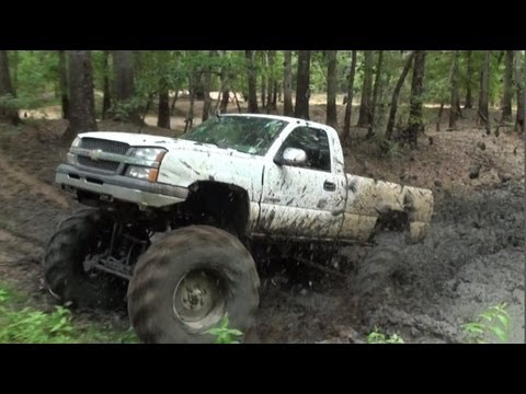 MUD TEST!! JTARVER420 - CHEVYS ON TRACTOR TIRES SHOOTIN ...