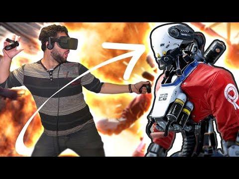 L'INCROYABLE ROBO RECALL VR!