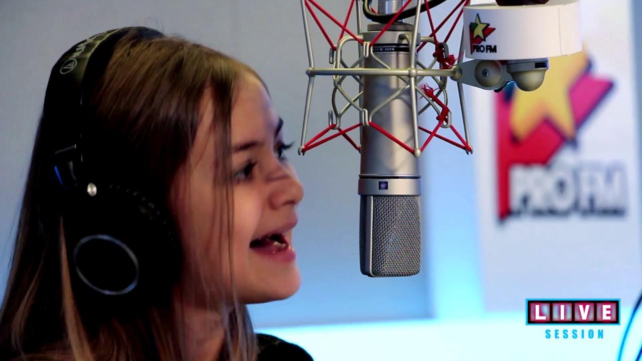 Iuliana Beregoi - Vina mea | ProFM LIVE Session