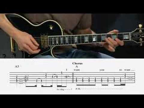 Cheap Trick: I Want You To Want Me Guitar Lesson @ GuitarInstructor.com