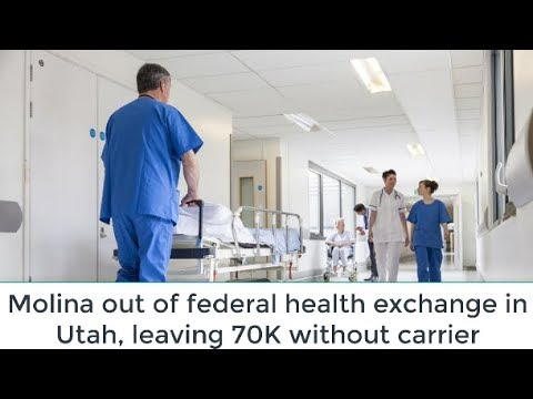 Molina out of federal health exchange in Utah, leaving 70K without carrier | NEWS