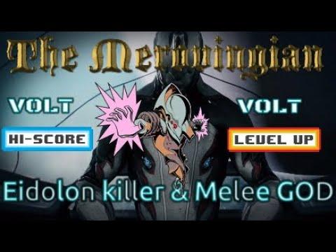 How to use Volt | Eidolon Volt build |  Melee GOD | Warframe®
