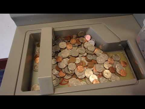 Cashing In Coins At The Bank (September 2018) ACTION-PACKED ADVENTURE!