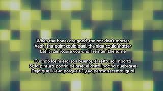 Gambar cover The bones - Maren Morris Ft Hozier Lyrics (Ingles, Español)
