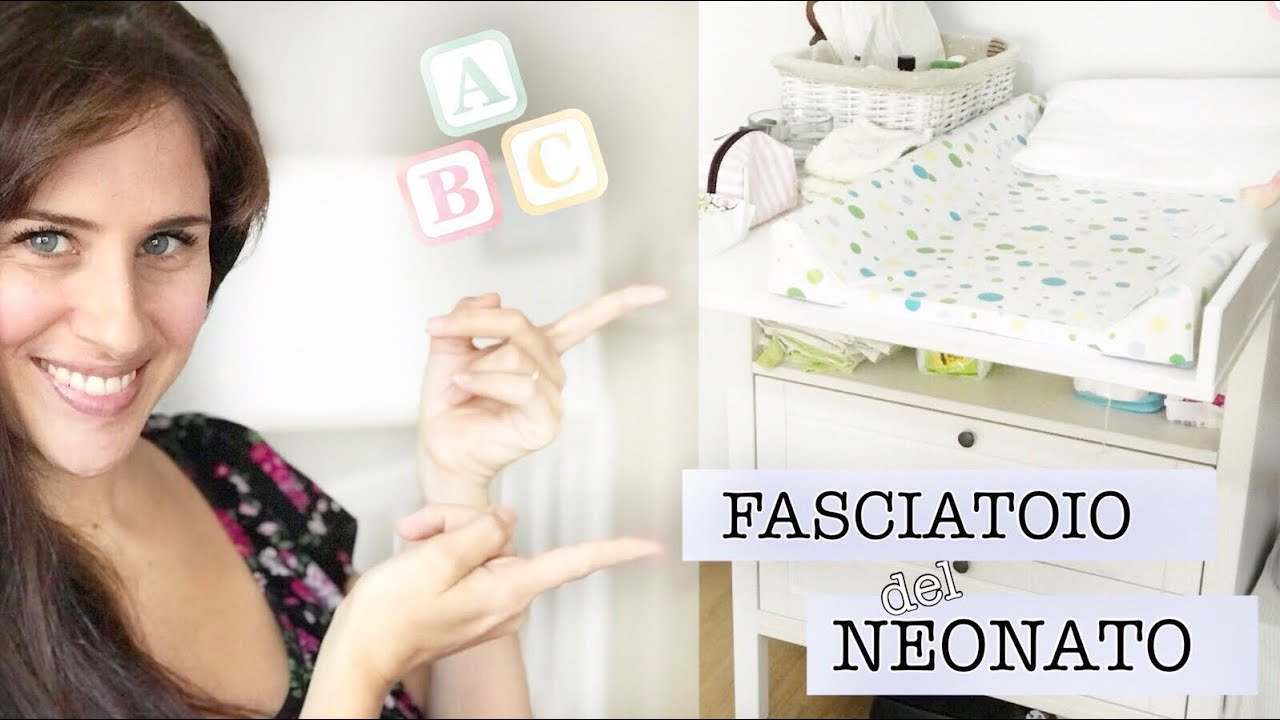 Cassettiera Ikea Con Fasciatoio.Fasciatoio Per Neonato O Cassettiera Nella Cameretta Youtube
