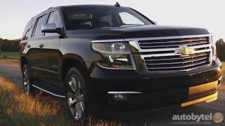 2016 Chevrolet Tahoe LTZ w/ Apple Car Play Demo Test Drive Video Review