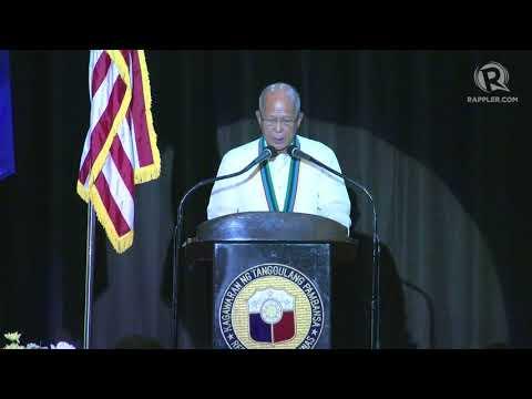 Balikatan 2018 speech: PH Defense Secretary Delfin Lorenzana