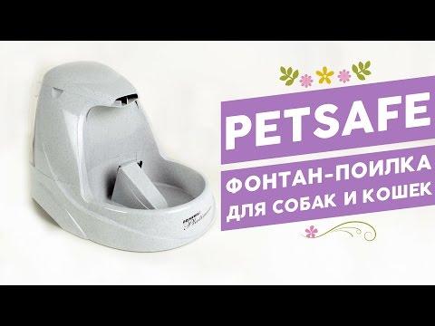 Фонтан-поилка для собак и кошек Pet Safe Drinkwell