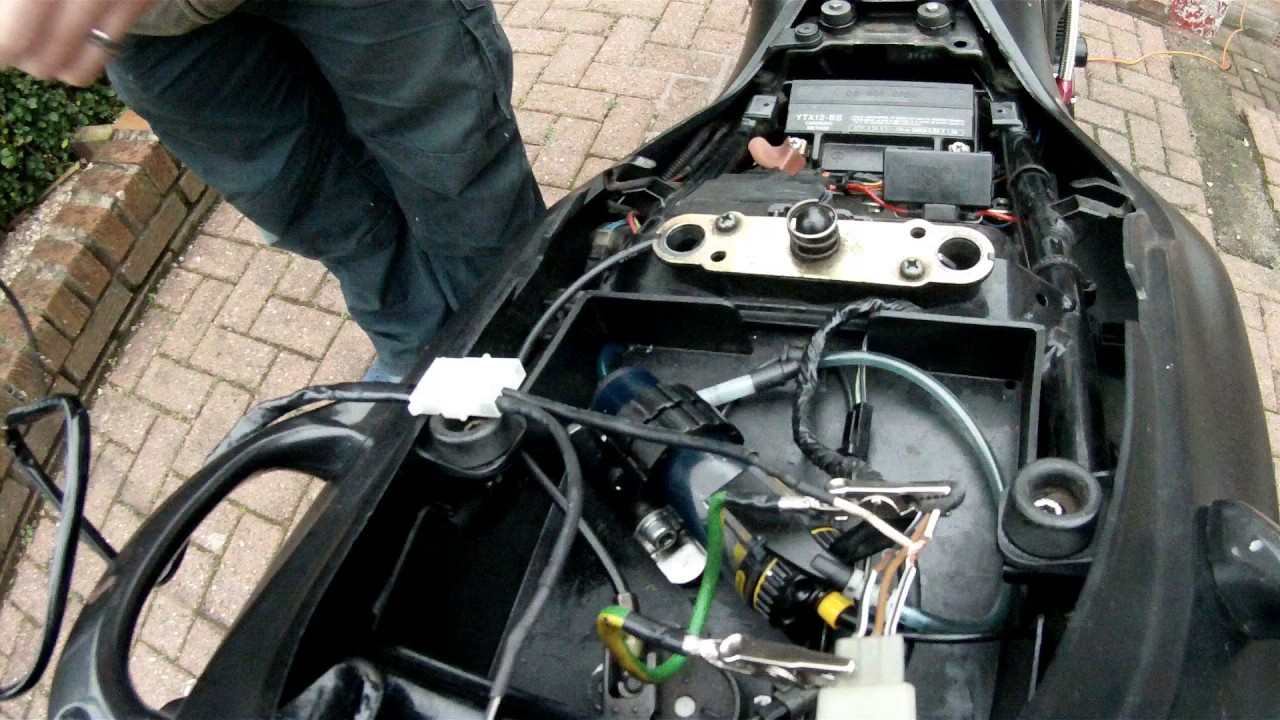 How to wire a GIVI top box final part Admore Lighting Wiring Diagram on
