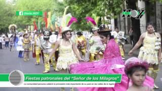 """La comunidad Peruana celebró la fiesta del """"Señor de los Milagros"""""""