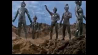 "Ultraman: 5 Stone Statue ""Chamber"" Transformations Then Reverse Petrification"