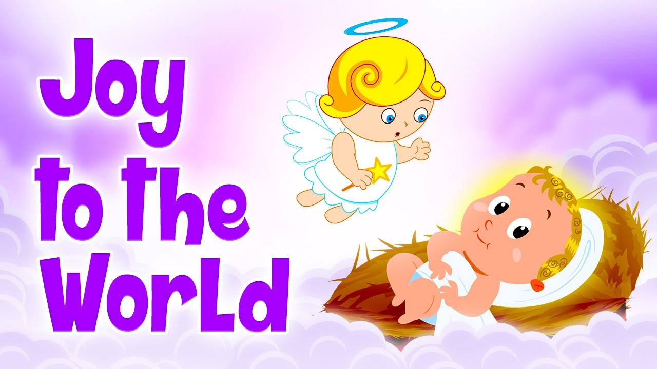 ❄♫ Joy To The World ♫🔔Famous Christmas Songs For Kids ...