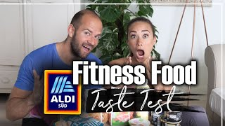 ALDI Fitness Food Produkte  TASTE TEST | TOP oder FLOP?