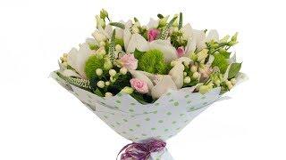 Букет из орхидей и гвоздик - Цветочный Маркет 24